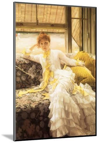 July (Speciment of a Portrait), 1878-James Tissot-Mounted Giclee Print