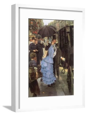 The Bridesmaid, 1884-James Tissot-Framed Art Print