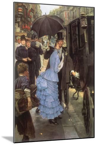 The Bridesmaid, 1884-James Tissot-Mounted Giclee Print