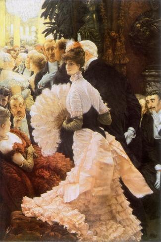 Courtesan and Senior, 1884-James Tissot-Stretched Canvas Print
