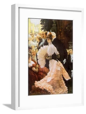 Courtesan and Senior, 1884-James Tissot-Framed Art Print