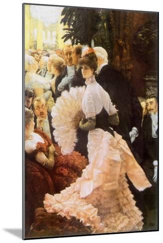 Courtesan and Senior, 1884-James Tissot-Mounted Giclee Print