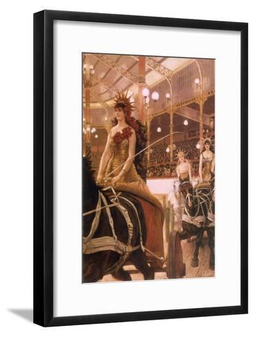 Circus Performers, 1884-James Tissot-Framed Art Print