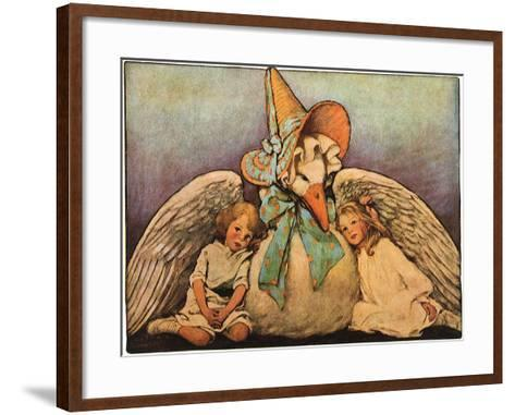 Mother Goose, 1914-Jessie Willcox-Smith-Framed Art Print