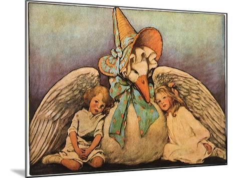 Mother Goose, 1914-Jessie Willcox-Smith-Mounted Giclee Print