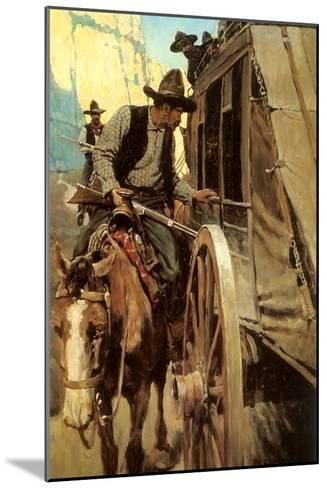 The Admirable Outlaw, 1906-Newell Convers Wyeth-Mounted Giclee Print
