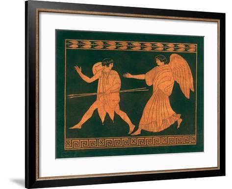 Diana and Angel-Sir William Hamilton-Framed Art Print