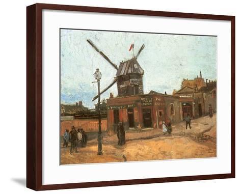 Village Street, 1886-Vincent van Gogh-Framed Art Print