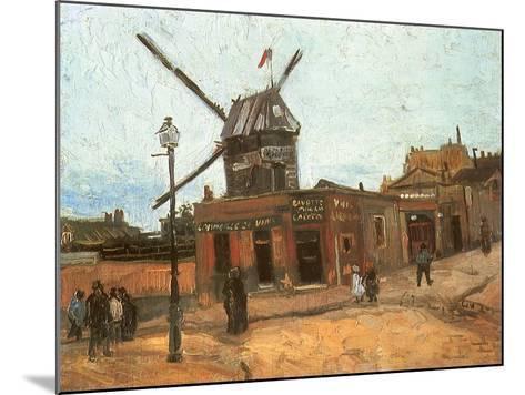 Village Street, 1886-Vincent van Gogh-Mounted Giclee Print