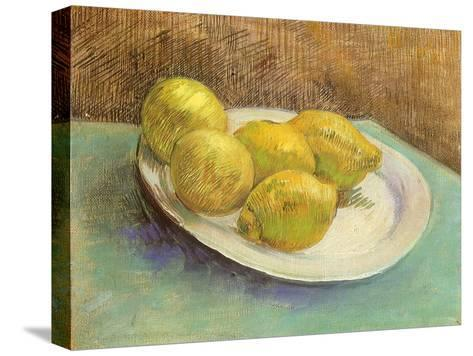 Still Life with Lemons on a Plate, 1887-Vincent van Gogh-Stretched Canvas Print