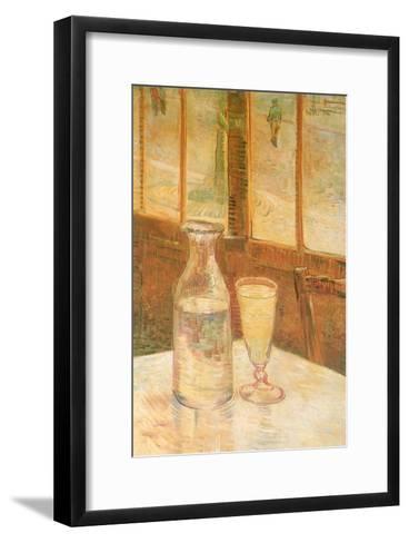 Still Life with Absinthe, 1887-Vincent van Gogh-Framed Art Print