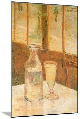 Still Life with Absinthe, 1887-Vincent van Gogh-Mounted Giclee Print