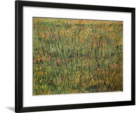 Pasture in Bloom, 1887-Vincent van Gogh-Framed Art Print