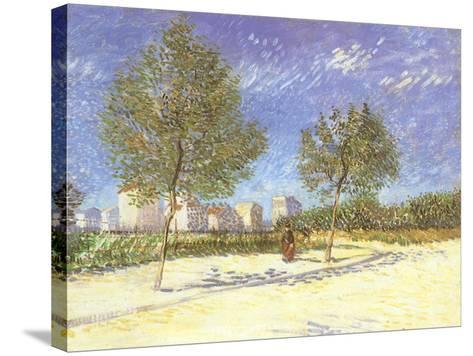 Outskirts of Paris, 1887-Vincent van Gogh-Stretched Canvas Print