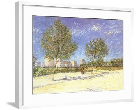 Outskirts of Paris, 1887-Vincent van Gogh-Framed Art Print