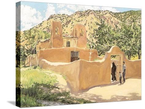 Oferta Para San Esquipula, 1918-Walter Ufer-Stretched Canvas Print