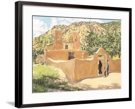 Oferta Para San Esquipula, 1918-Walter Ufer-Framed Art Print