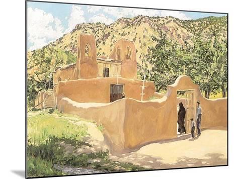 Oferta Para San Esquipula, 1918-Walter Ufer-Mounted Giclee Print