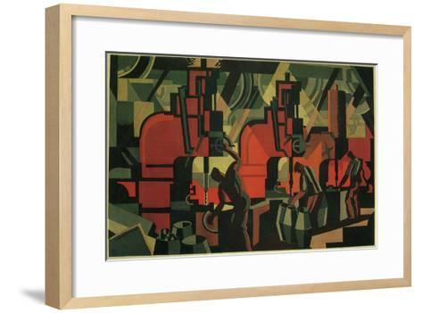 Manufacturing Men, 1928--Framed Art Print