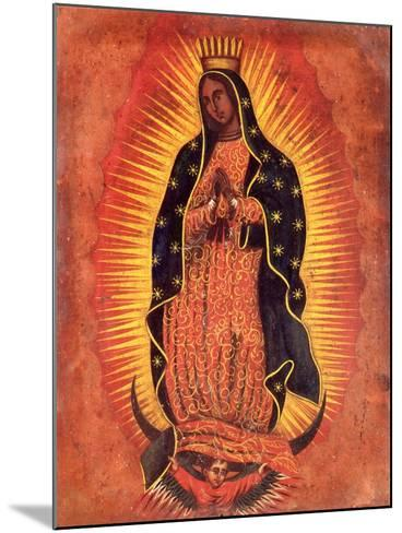 Our Lady of Guadeloupe--Mounted Giclee Print