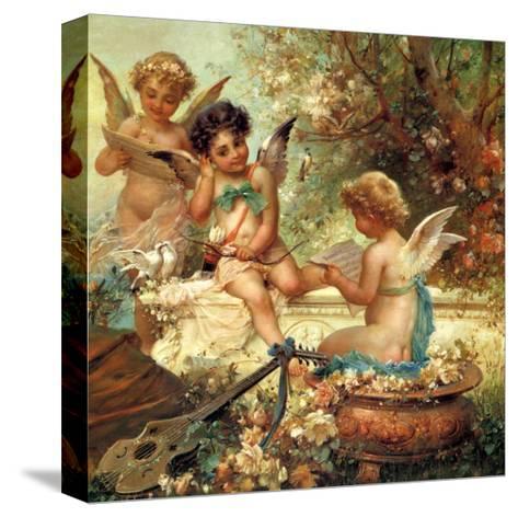 Angel Trio, 1859--Stretched Canvas Print