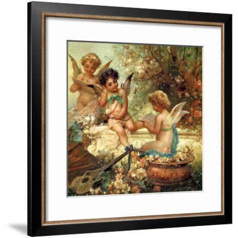 Angel Trio, 1859--Framed Art Print