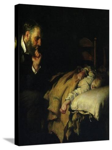 The Doctor, 1891--Stretched Canvas Print