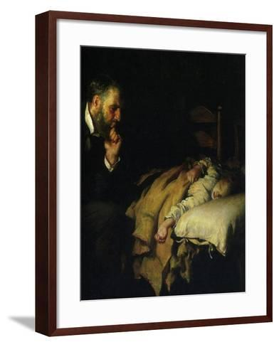 The Doctor, 1891--Framed Art Print