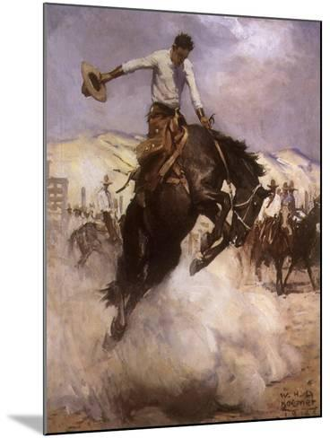 Breezy Riding, 1926--Mounted Giclee Print