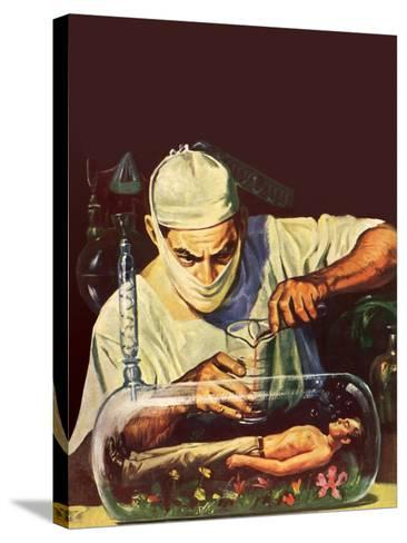 Sci Fi - Mad Scientist, 1950--Stretched Canvas Print