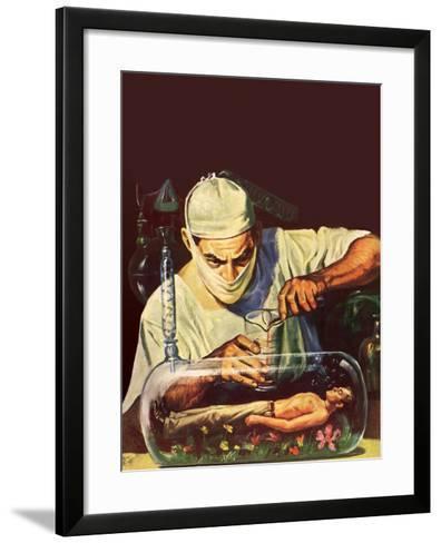Sci Fi - Mad Scientist, 1950--Framed Art Print