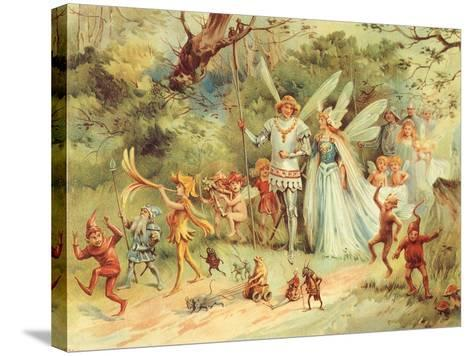 King and Queen Fairy, 1910--Stretched Canvas Print