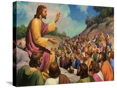 Sermon on the Mount, 1965--Stretched Canvas Print