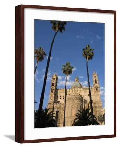Cathedral, Palermo, Sicily, Italy, Europe-Mark Banks-Framed Art Print