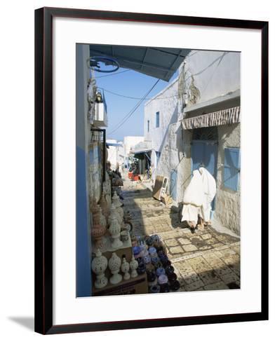 Medina, Sousse, Tunisia, North Africa, Africa-Julia Bayne-Framed Art Print