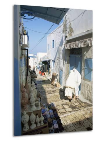 Medina, Sousse, Tunisia, North Africa, Africa-Julia Bayne-Metal Print
