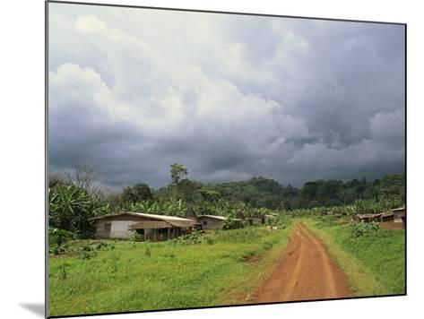 Typical Village in Western Cameroon, Africa-Julia Bayne-Mounted Photographic Print