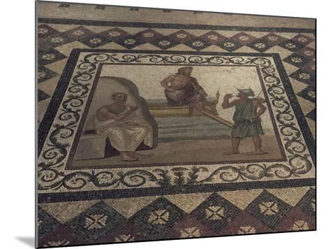 Mosaic Floor from a Roman House, Kos Museum, Dodecanese Islands, Greek Islands, Greece-David Beatty-Mounted Photographic Print