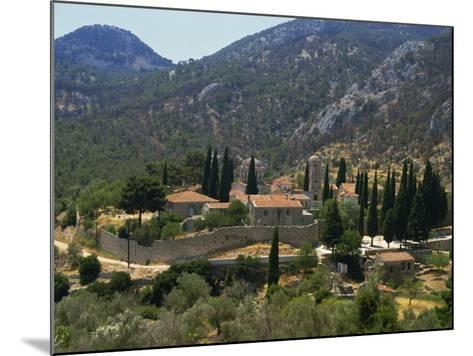 Nea Moi Monastery, Chios, North Aegean Islands, Greek Islands, Greece, Europe-David Beatty-Mounted Photographic Print