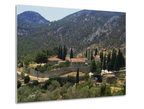 Nea Moi Monastery, Chios, North Aegean Islands, Greek Islands, Greece, Europe-David Beatty-Metal Print
