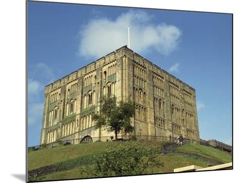 Norwich Castle, Norwich, Norfolk, England, United Kingdom, Europe-Charcrit Boonsom-Mounted Photographic Print