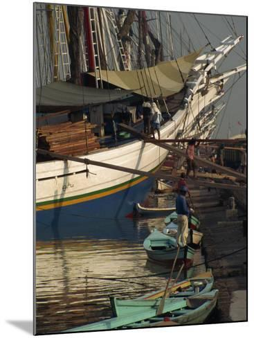 Old Port,, Jakarta, Java, Indonesia, Southeast Asia-Charles Bowman-Mounted Photographic Print