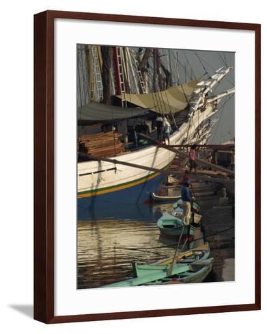 Old Port,, Jakarta, Java, Indonesia, Southeast Asia-Charles Bowman-Framed Art Print