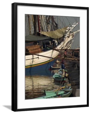 Old Port,, Jakarta, Java, Indonesia, Southeast Asia-Charles Bowman-Framed Art Print