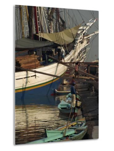 Old Port,, Jakarta, Java, Indonesia, Southeast Asia-Charles Bowman-Metal Print