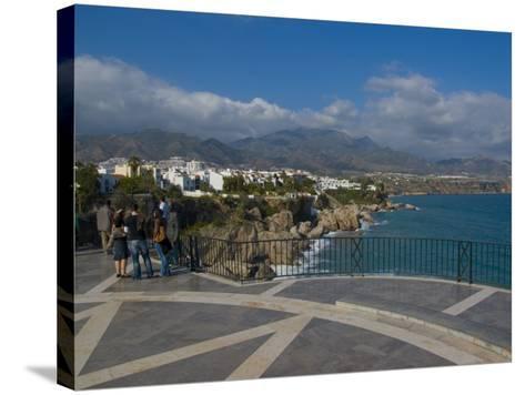 Balcon De Europa, Nerja, Costa Del Sol, Andalucia, Spain, Mediterranean, Europe-Charles Bowman-Stretched Canvas Print