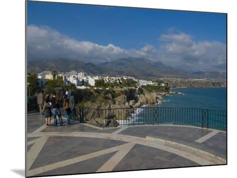 Balcon De Europa, Nerja, Costa Del Sol, Andalucia, Spain, Mediterranean, Europe-Charles Bowman-Mounted Photographic Print