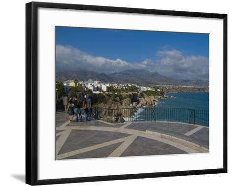 Balcon De Europa, Nerja, Costa Del Sol, Andalucia, Spain, Mediterranean, Europe-Charles Bowman-Framed Art Print