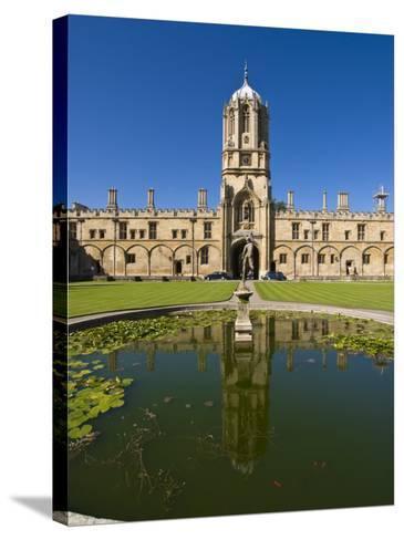 Christ Church, Oxford, Oxfordshire, England, United Kingdom, Europe-Charles Bowman-Stretched Canvas Print