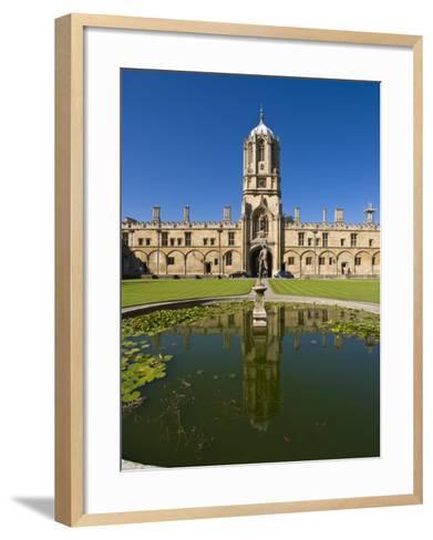 Christ Church, Oxford, Oxfordshire, England, United Kingdom, Europe-Charles Bowman-Framed Art Print